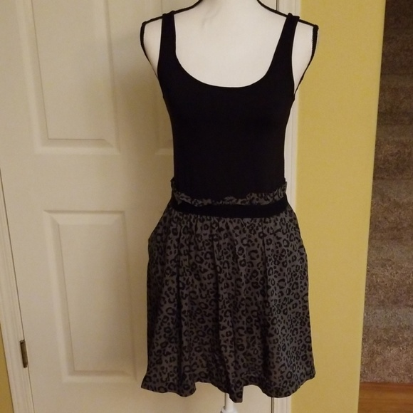 PINK Victoria's Secret Dresses & Skirts - PINK BLACK CHEETAH PRINT DRESS,  SIZE L